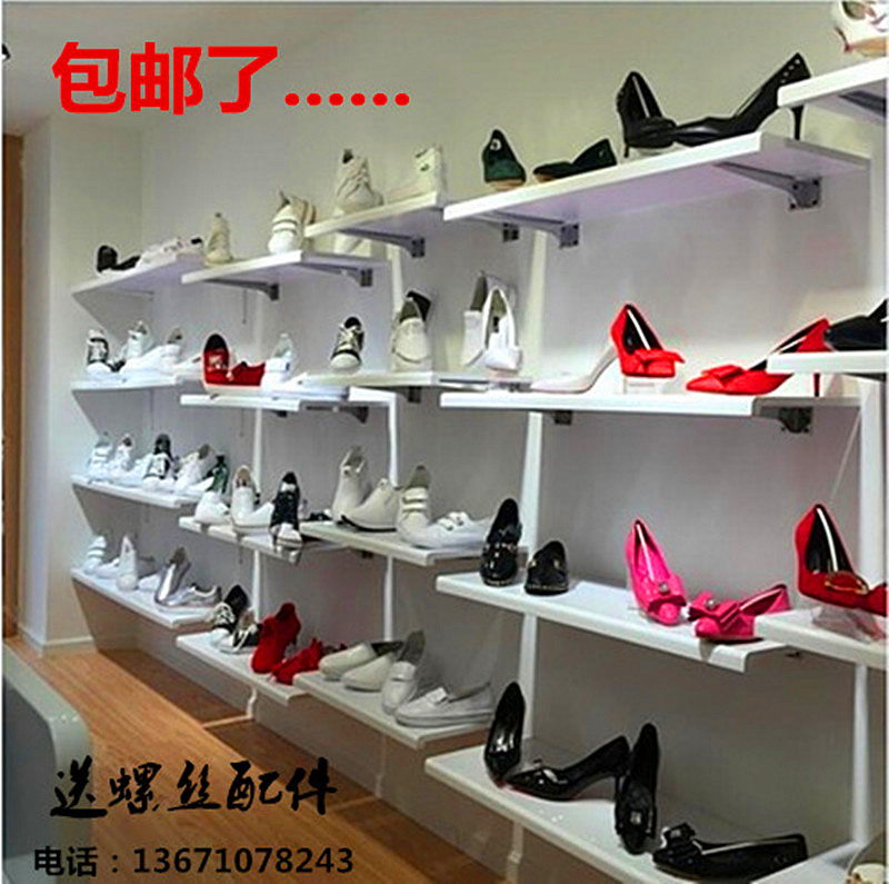 Usd 4 76 Shoe Store Shoe Rack Display Rack On The Wall Shoe Rack