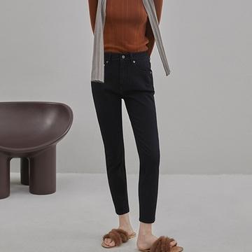Orange Desi 弹力牛仔裤女