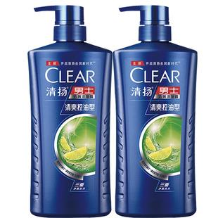 清扬男士洗发水露200g*2