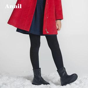 安奈儿童装女童打底裤冬款加绒加厚保暖...