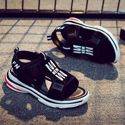 98736076d Boys sandals 2019 new boys Korean students summer girls non-slip beach shoes  big children s sandals