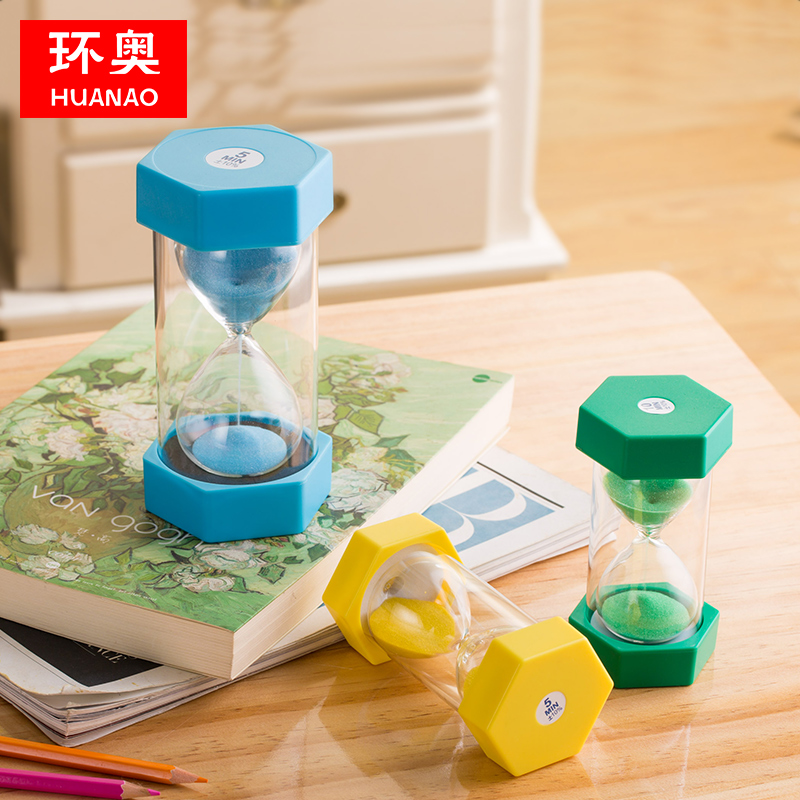 Hourglass timer children fall 15 30 60 Minutes and a half hour time  quicksand bottle funnel creative decoration