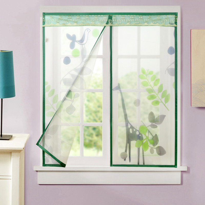 Screen Mesh Window//Door Anti-mosquito Sand Net Magnetic Self-adhesive Removable