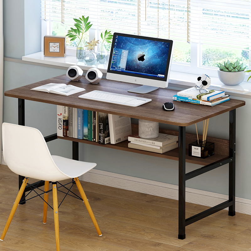 computer desk desktop home desk bedroom desk simple modern writing desk student study table economy. Black Bedroom Furniture Sets. Home Design Ideas
