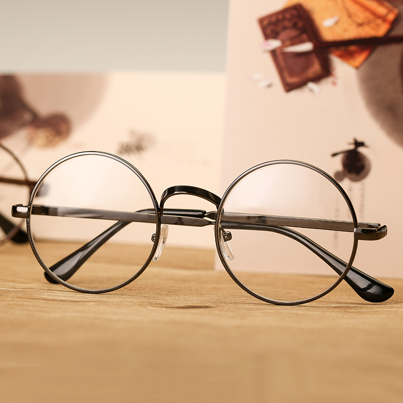 Glasses frame female korean version of the tide retro simple glasses frame female korean version of the tide retro simple personality round face flat mirror myopia thecheapjerseys Image collections