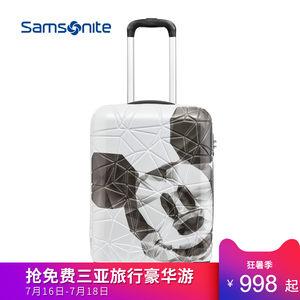 Samsonite/新秀丽卡通米奇可扩展拉杆箱旅行箱行李箱硬箱男女 AF9