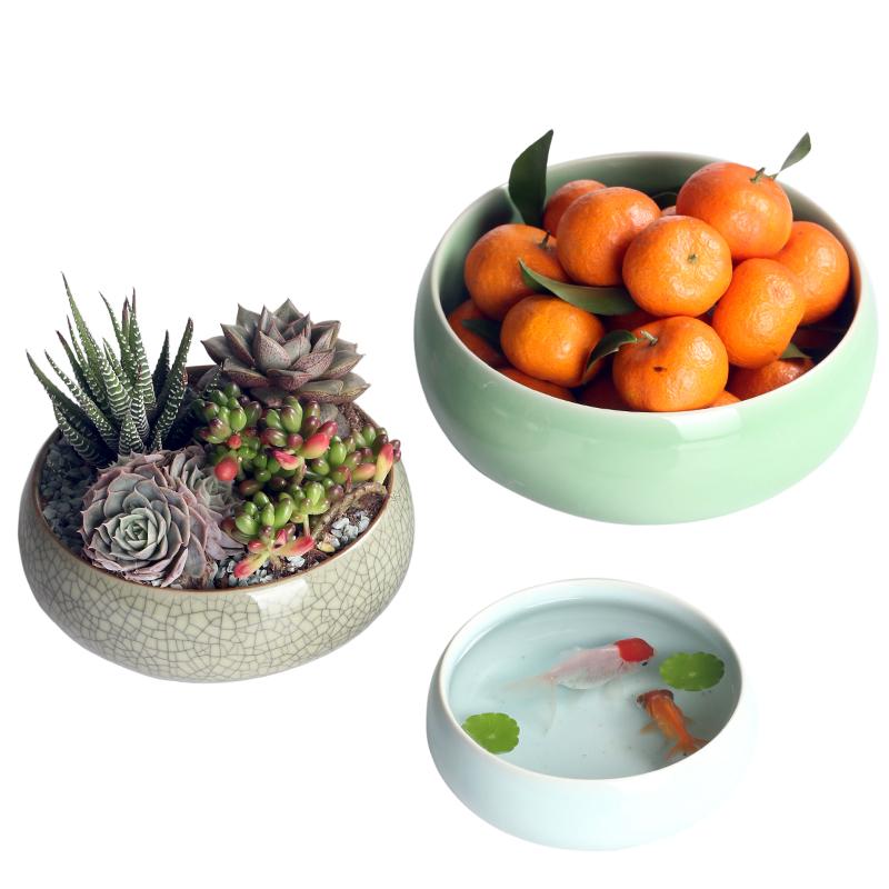 【上仟堂】创意客厅陶瓷百变花盆