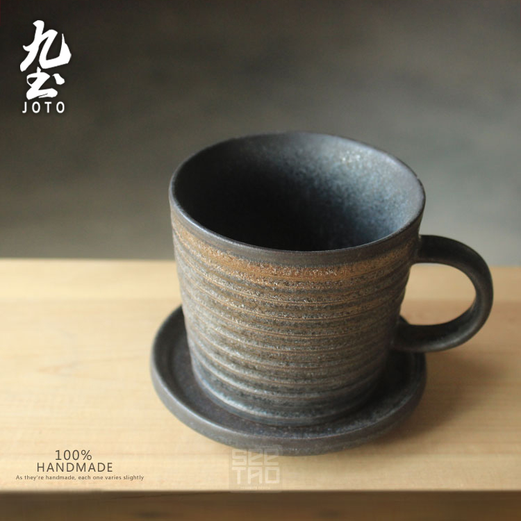 About Nine soil manual Japanese coffee cup hotel restaurants teahouse afternoon tea cups to restore ancient ways individuality creative coarse ceramic mugs