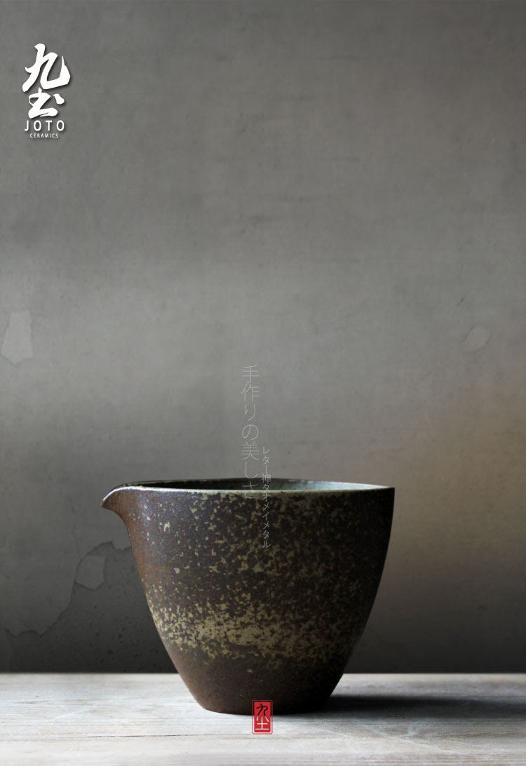 About Nine soil manually and glass up ceramic heat evenly fair keller cup Japanese retro kung fu tea tea accessories