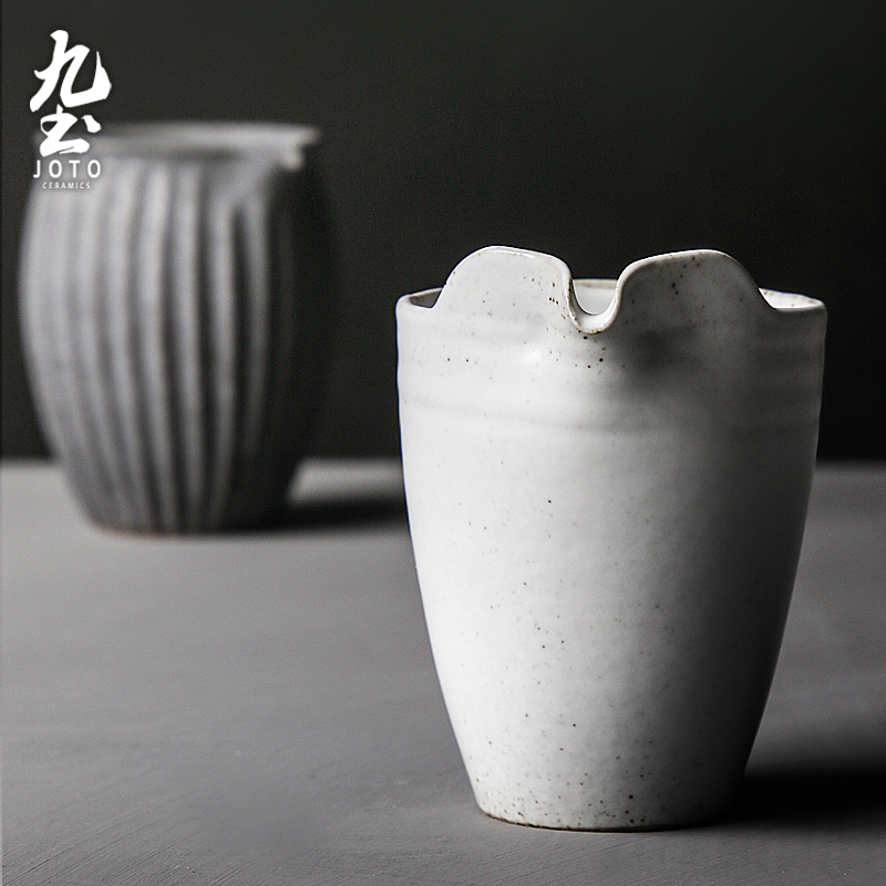 About Nine manual coarse soil clay POTS kung fu tea pot of contracted household single pot of Japanese tea taking with terms ceramic POTS little teapot cup