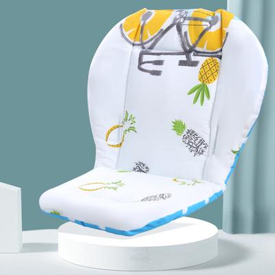 婴儿推车垫子秋冬坐垫保暖加厚棉靠垫餐椅婴儿车伞车纯棉四季通用