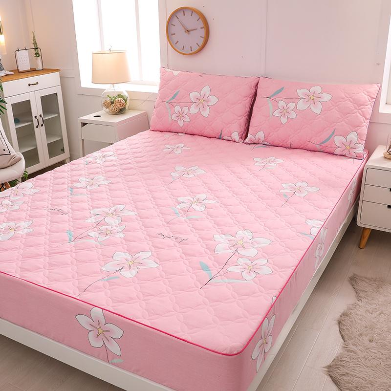 Khăn trải giường bằng vải cotton nguyên chất hoa đơn - Trang bị Covers
