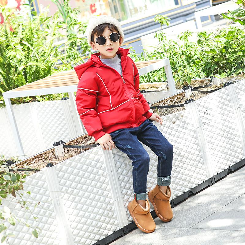 【直上飞达】冬季儿童加绒雪地靴
