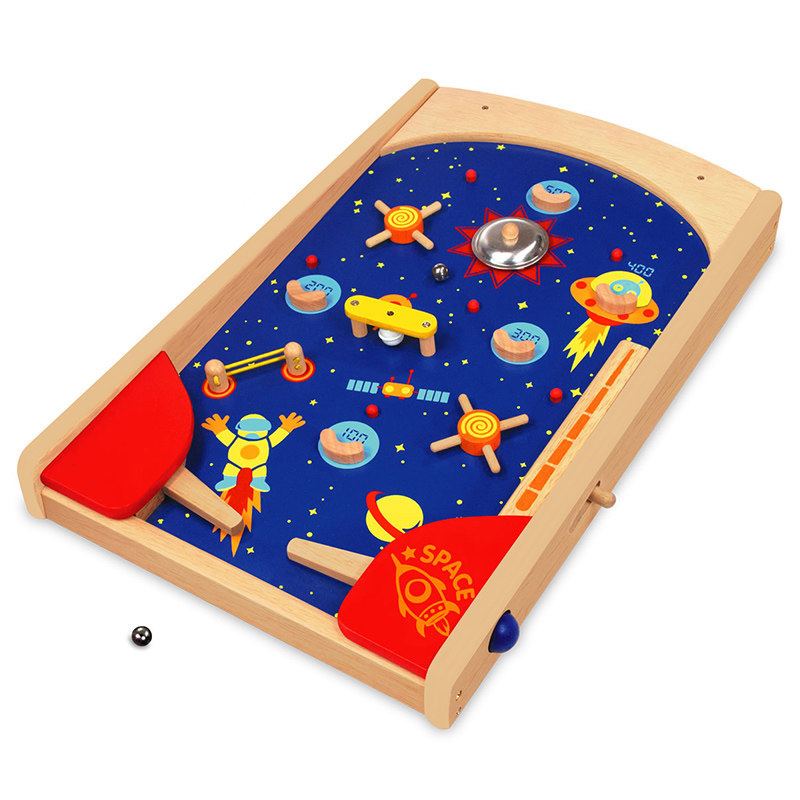 I'mtoy太空弹珠台儿童益智亲子互动桌面玩具