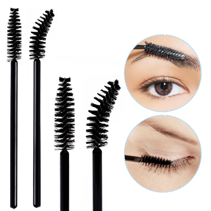 Buy 2 Get 1 free mascara brush eyelash brush eyelash volume Eyebrow Brush spiral Brush eyebrow brush makeup brush 5 pack