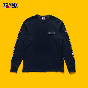 TOMMY JEANS OUTDOOR 男装2018冬季长袖T恤-DM0DM06228OW
