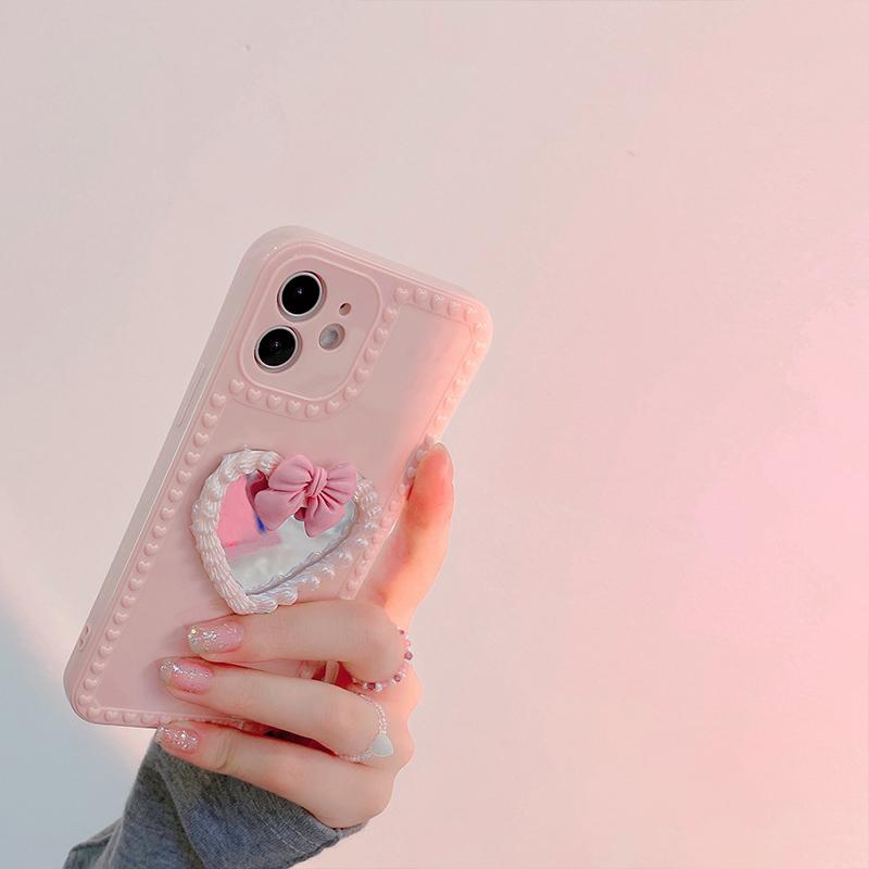 【带镜子】苹果全系防摔手机壳