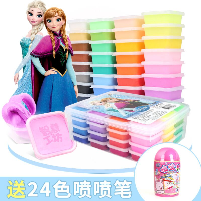 36-color ultra-light clay for Disney children's sand painting