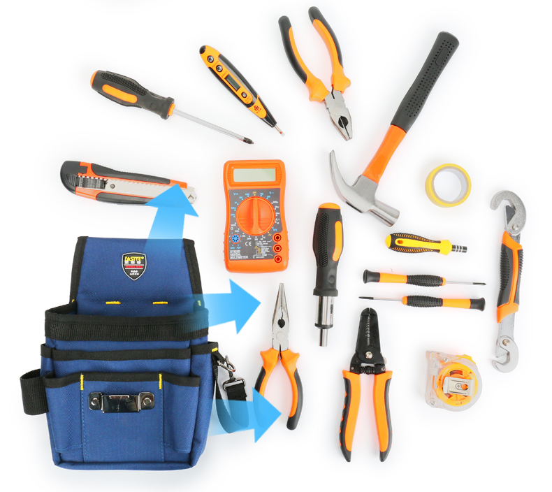 裝修木工專用工具包腰包小便攜式隨身水電工釘子腰包男帆布