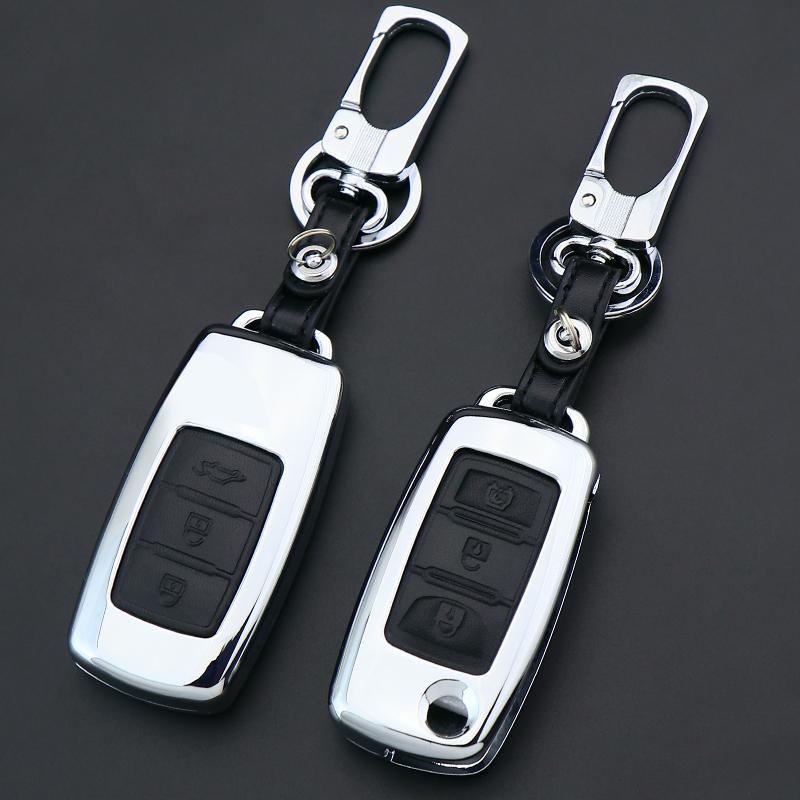东风风行景逸X5钥匙套扣S500菱智m3 m5 X3 XV遥控汽车钥匙包壳男