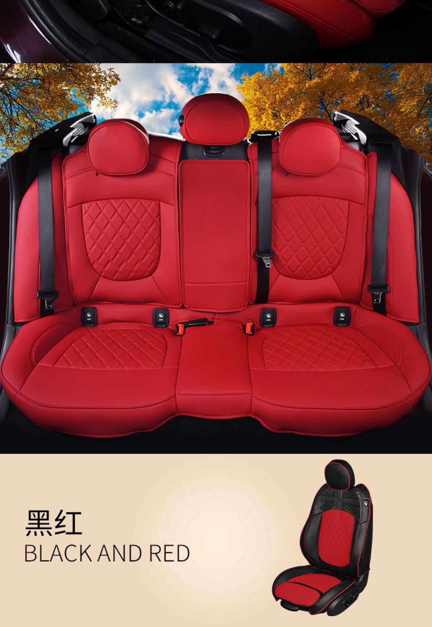 宝马mini座套迷你cooper全包汽车座椅套改装one专用车坐垫装饰F56商品详情图