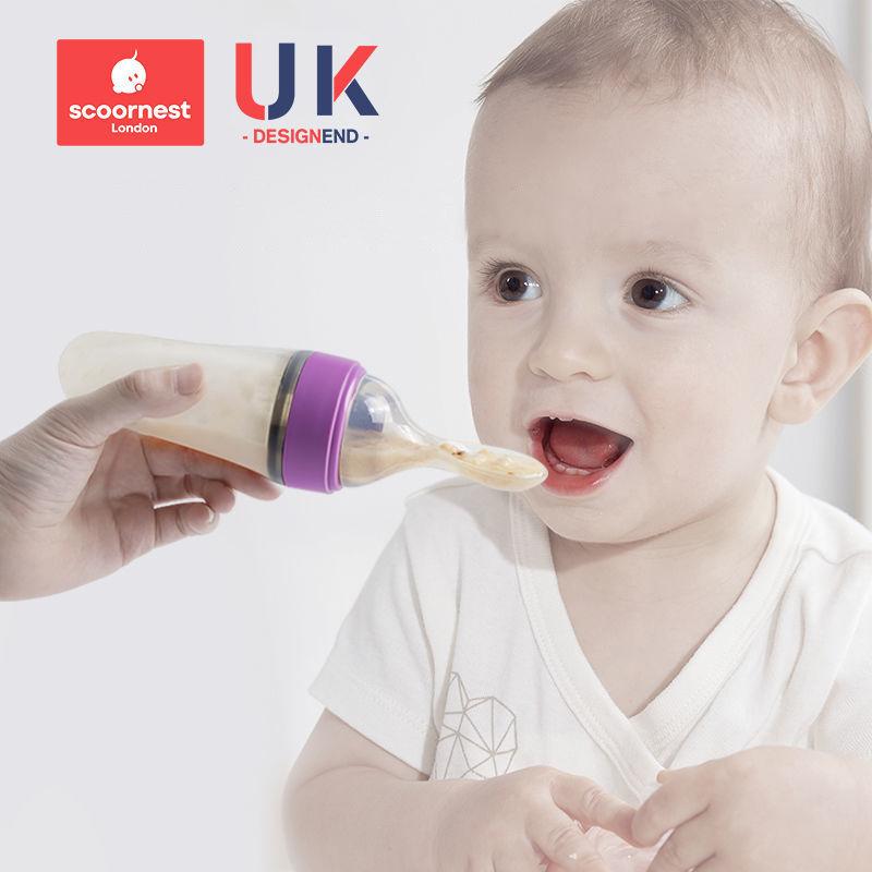 【英国KC】婴幼儿硅胶米糊勺辅食神器