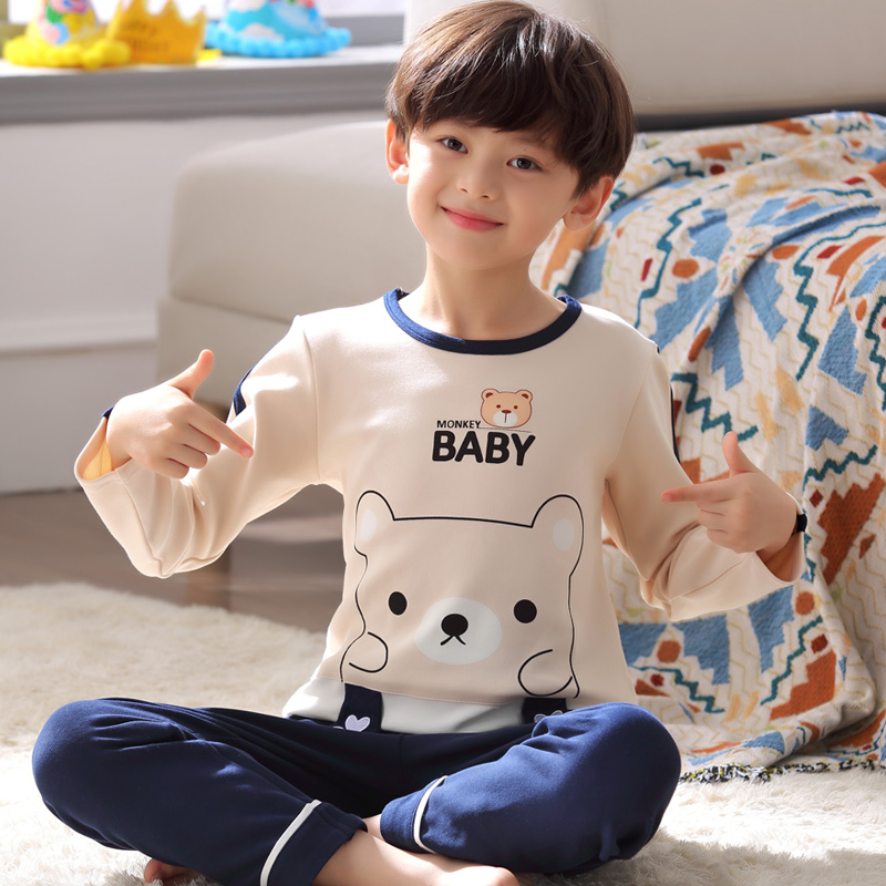 193 BABY BEAR [LONG SLEEVE TROUSERS]