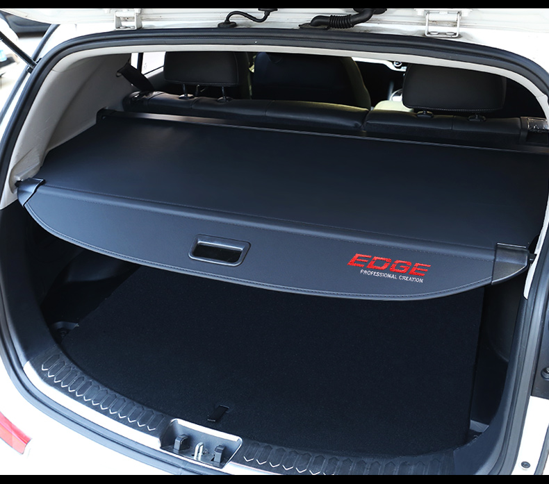 For 2015-2018 Ford Edge Retractable Cargo Cover Rear Trunk Privacy Shade BLACK