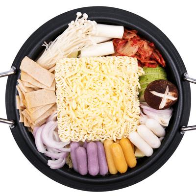 韩国部队芝士年糕6食材火锅1010g