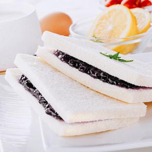 新鲜营养早餐紫米面包