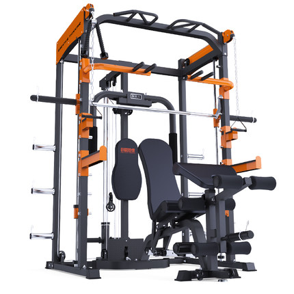 SMITH MACHINE + DUMBBELL BENCH (WITHOUT BARBELL)