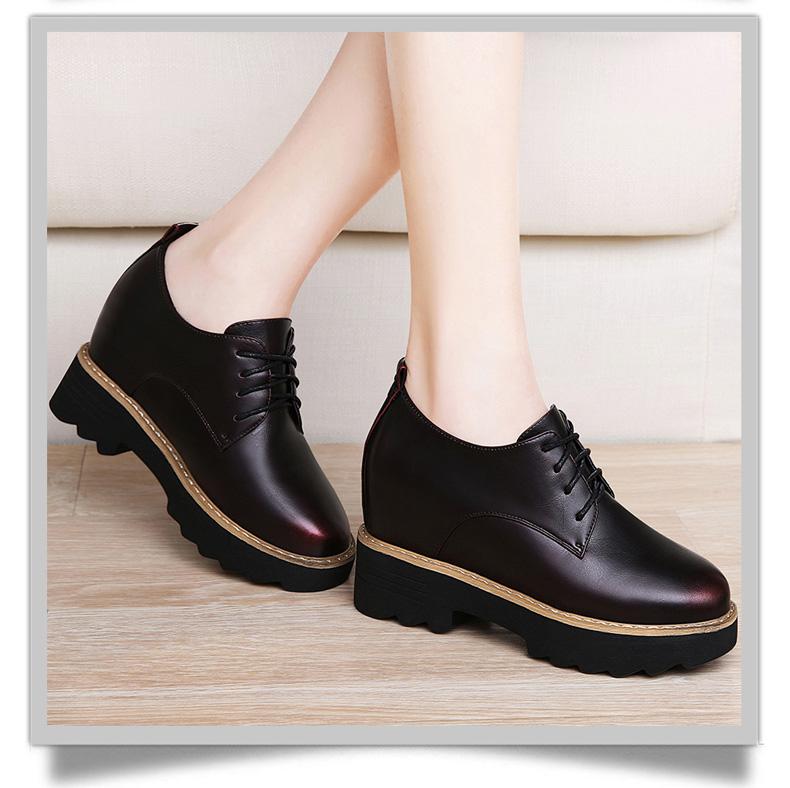 百年纪念1388新款百搭韩版女鞋休闲内增高鞋子女秋冬季