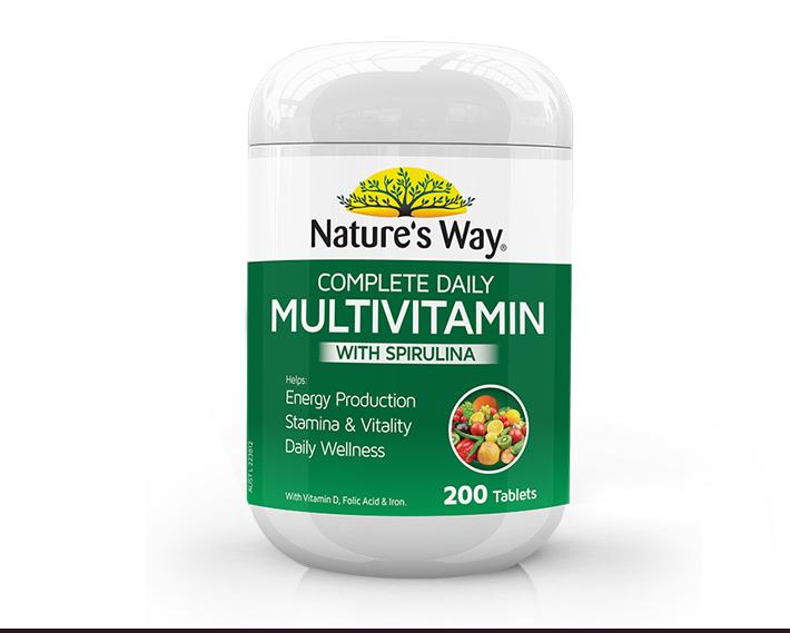 Nature'sWay全面复合营养维生素片200片澳洲保健品多种矿物质家庭 产品系列 第16张