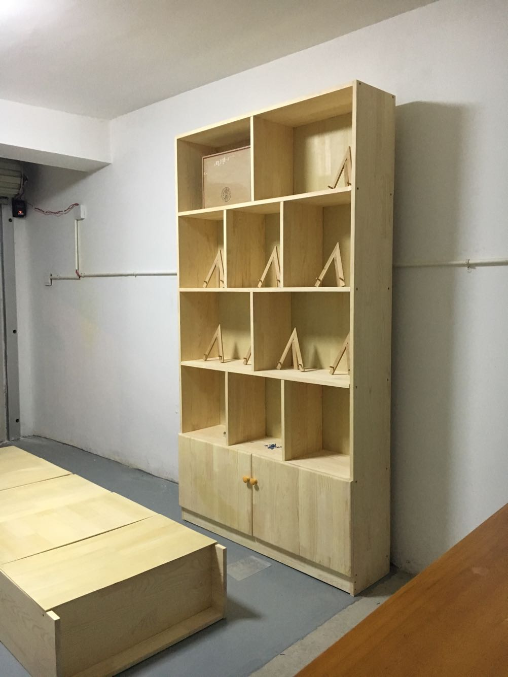 Usd 9 11 Solid Wood Bookcase Free Combination Pine Bookcase