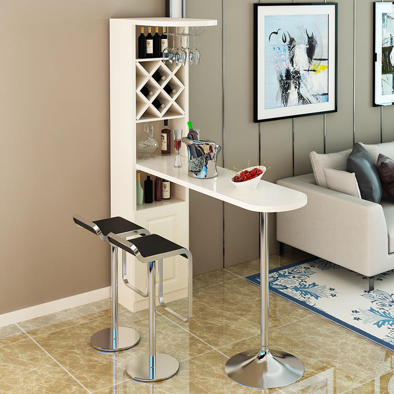 Modern Wall Home Bar Bar Wine Cabinet Simple Bar Table Simple Small Bar  Living Room Partition ...