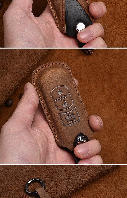 Bao da chìa khóa Mazda 3,6, CX5, CX8 - ảnh 11