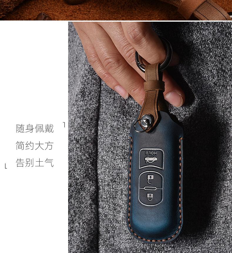 Bao da chìa khóa Mazda 3,6, CX5, CX8 - ảnh 6