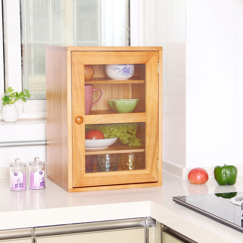 buy solid wood spice cabinet kitchen storage cabinet food