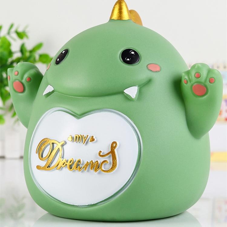 萌宠存钱罐恐龙小狗小猪熊储蓄罐防摔可以取出储钱罐儿童男孩女孩