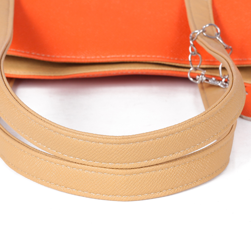 Large Capacity Women Shoulder Bag Two spell candy color female bag Fashion Lady Women Leather Bag 20