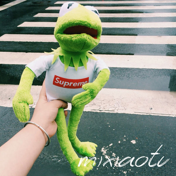American TY Sesame Street superme Komit frog kermit doll doll toy gift  concave shape 2a60b33f82f