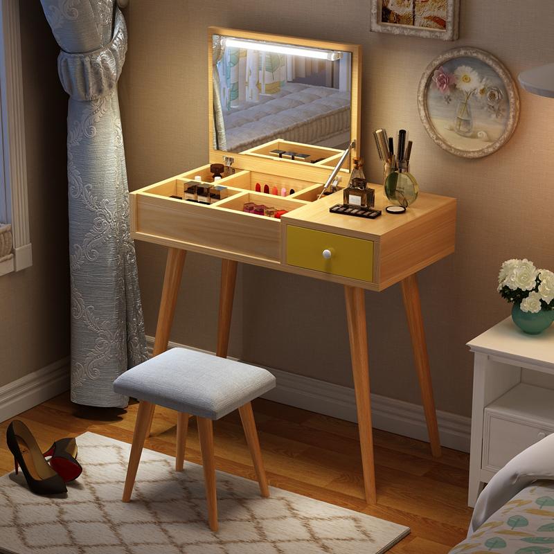 Нордический составить тайвань чистый красный комод ins ветер спальня небольшой квартира простой мини экономического типа грейферный составить стол