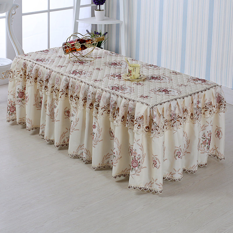 New Tea A Few Dust Cover Pastoral Fabric Lace Tablecloths Tablecloths Tablecloths Tablecloths Sets Bedside Table Covers