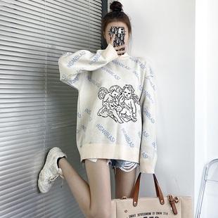 爆新時尚潮流針織衫天使毛衣外穿