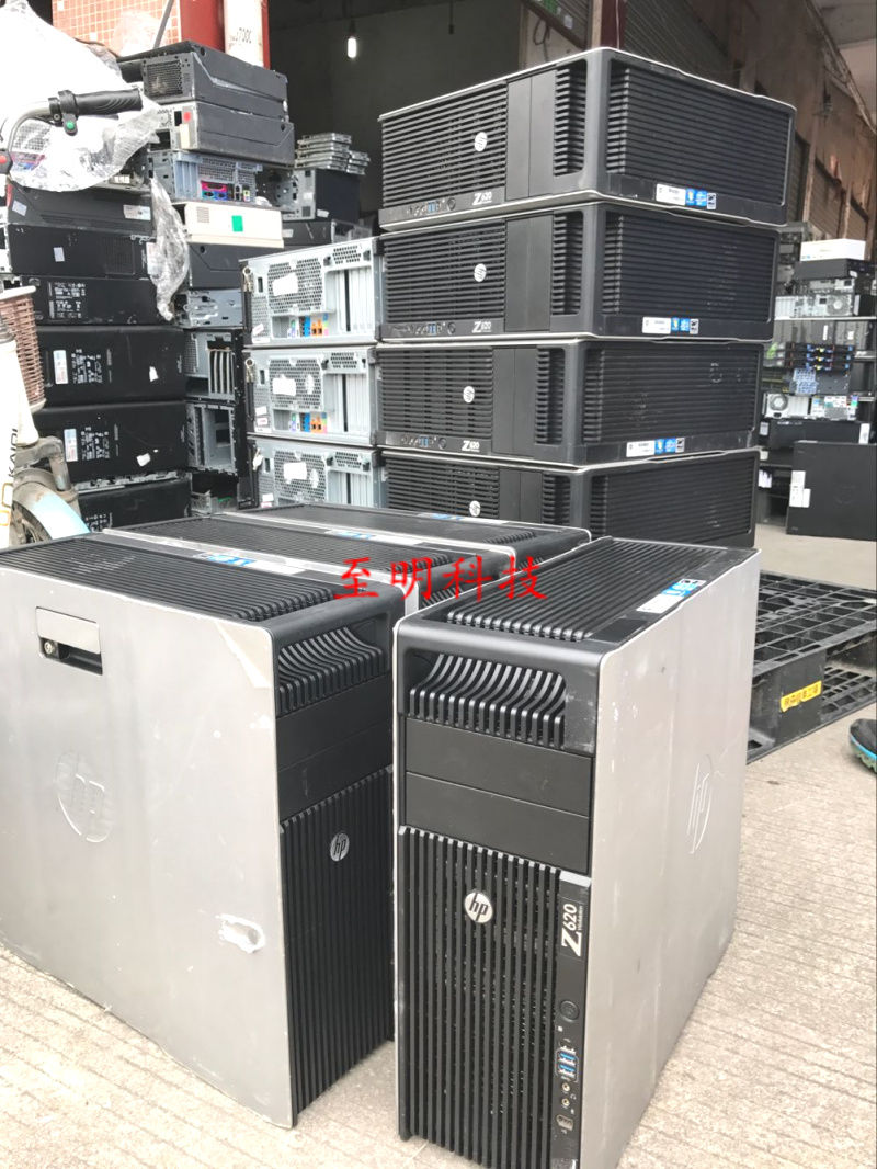 HP hp z620 graphics workstation dual panning system 16 core 32 thread Xeon  professional rendering host
