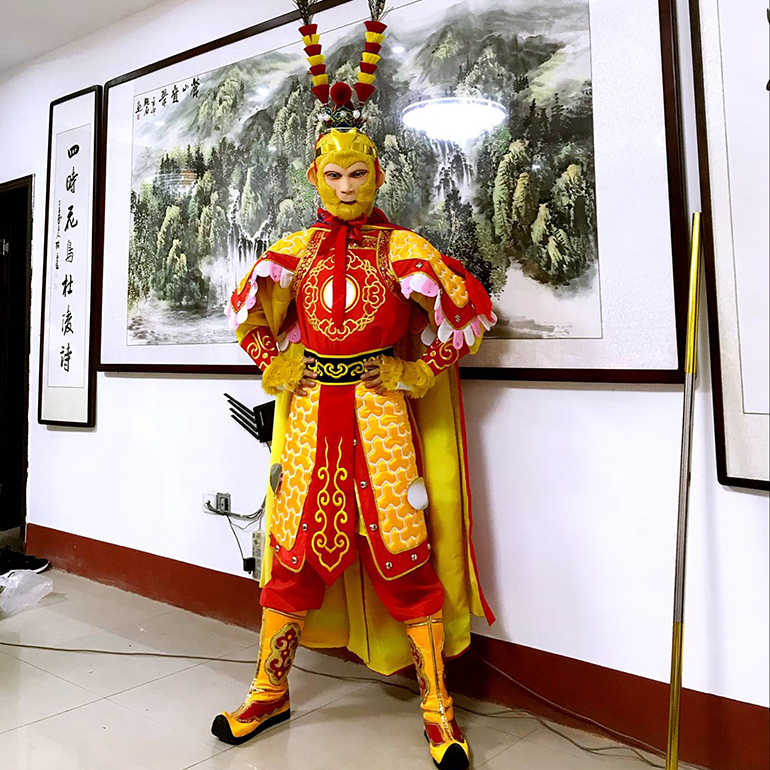 New Style Sun Wukong Cosplay Costumes Monkey Costumes Sun Wukong Costume Funny Cosplay Halloween Cosplay A Complete Range Of Specifications Kids Costumes & Accessories Boys Costumes