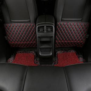 汽车通用两侧座椅防踢垫