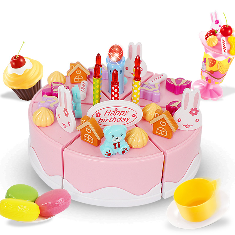 Tremendous Usd 23 61 Childrens Family Birthday Cake Toy 1 3 Years Old Baby Personalised Birthday Cards Veneteletsinfo
