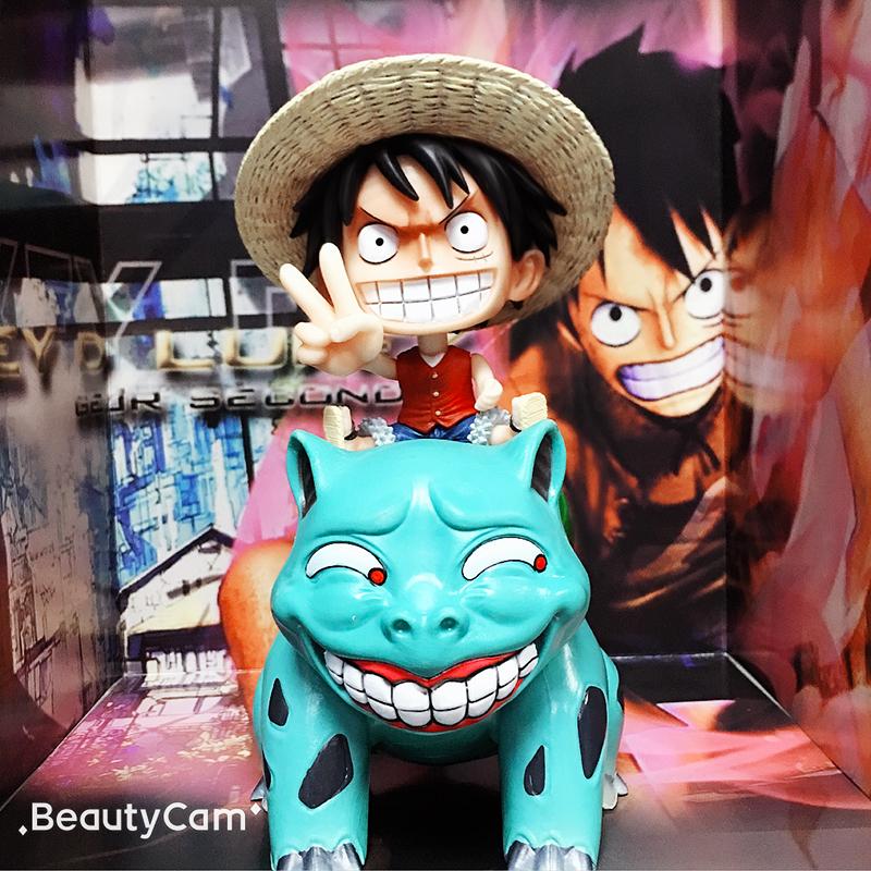 Onepiece búp bê mũ rơm trong nước đầy đủ các mô hình Soron Lufei quà tặng sinh nhật anime trang trí xe hơi - Capsule Đồ chơi / Búp bê / BJD / Đồ chơi binh sĩ