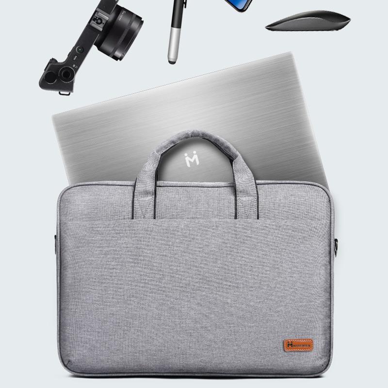 麦本本 笔记本单肩包15.6英寸商务办公电脑手提包单肩背包男女包